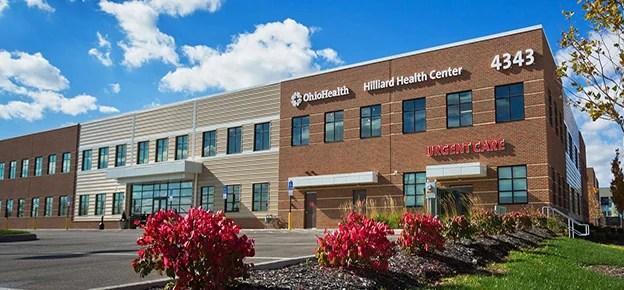 OhioHealth Hilliard Health Center in Central Ohio