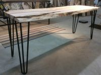 Hairpin Table Legs. 3 Rod Hairpin Table Legs. End Table ...