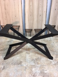 Ohiowoodlands Coffee Table Base. Solid Steel Coffee Table ...