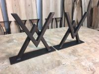 Ohiowoodlands Coffee Table Base. Steel Coffee Table Legs ...