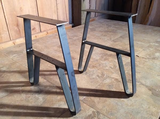 Metal Table Legs For Sale Ohiowoodlands Metal Bench Legs