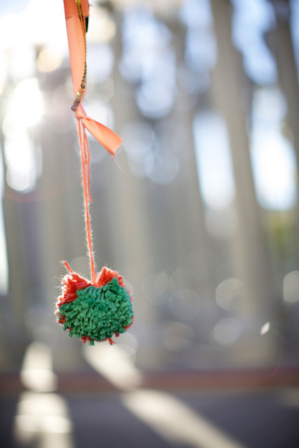 celebrating oh lovely day | gilded paper maché heart from paloma's nest | photo by amy stone