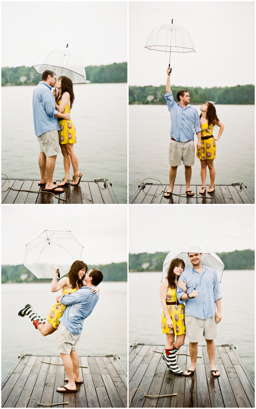 engagement session on an Alabama lake from http://mandyphoto.net/