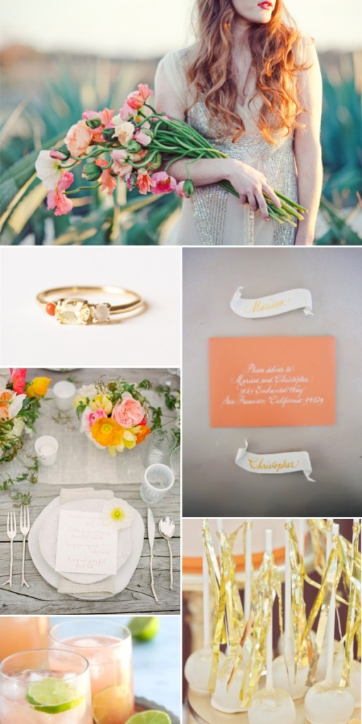 coral-orange-gold-wedding-inspiration