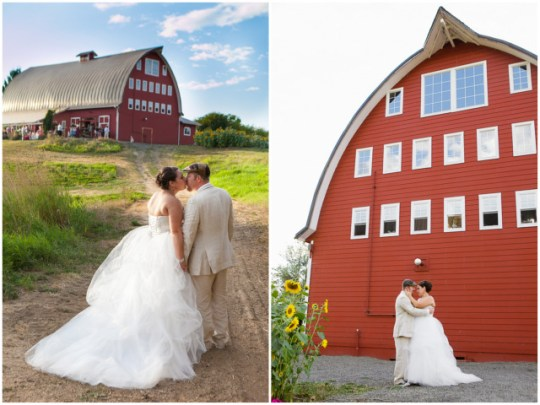 Washington Barn Wedding | Red Sparrow Photography