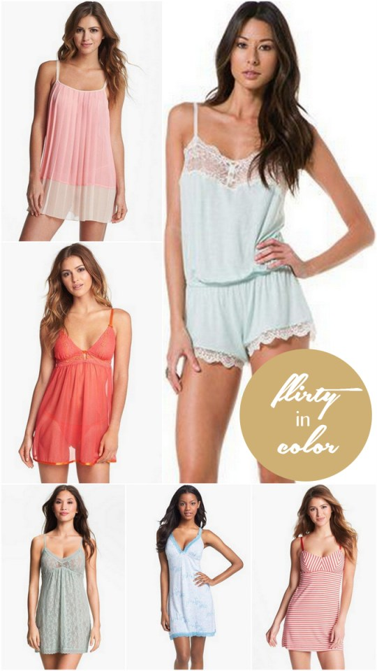 pretty lingerie you'll actually want to wear | ohlovelyday.com #honeymoon #lingerie