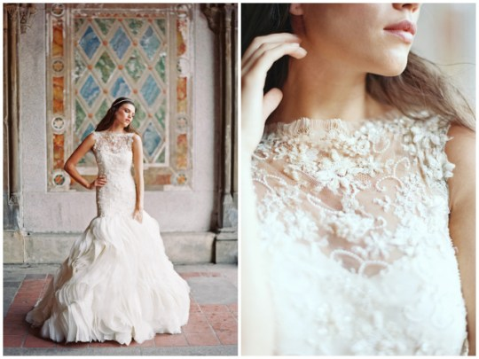 Sareh Nouri Bridal Gowns | Lookbook images by Laura Gordon Photography | Oh Lovely Day