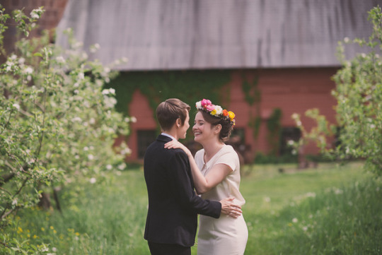 Top Weddings of 2013 on Oh Lovely Day | DIY Same Sex Barn Wedding from Love and Perry Photography