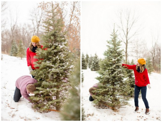 A First Married Christmas Shoot | Expressions Photography | Oh Lovely Day