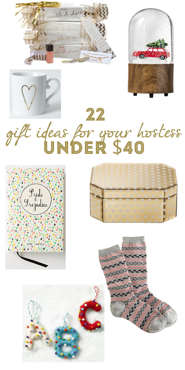 Holiday Gift Guide For Your Hostess | 22 gifts under $40 your holiday host will love | Oh Lovely Day