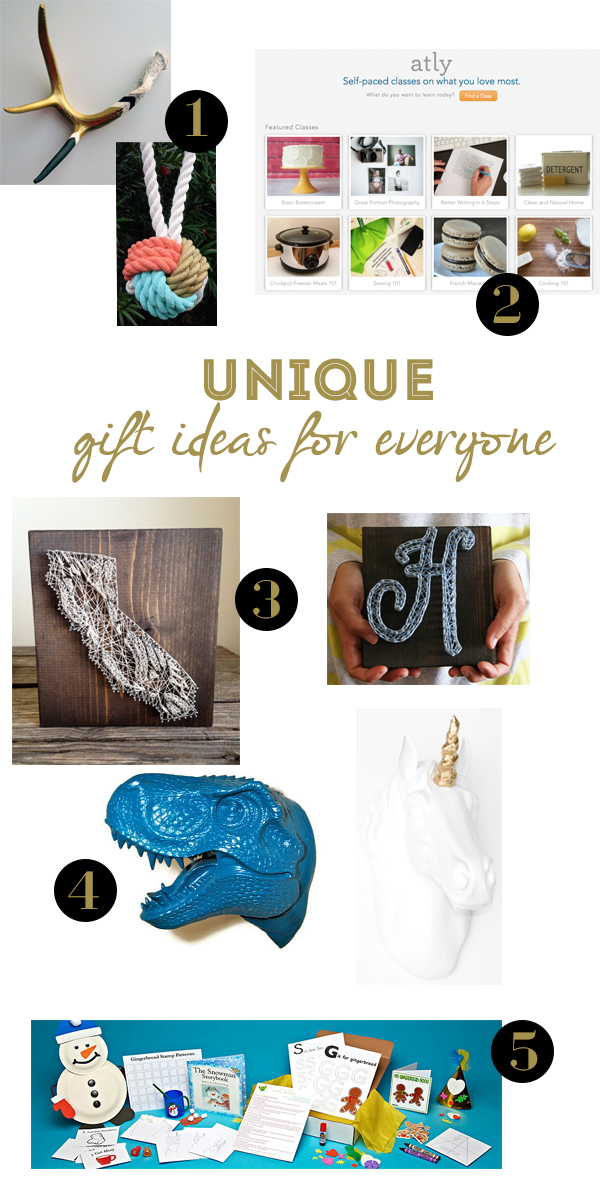 Unique + Thoughtful Gift Ideas for E