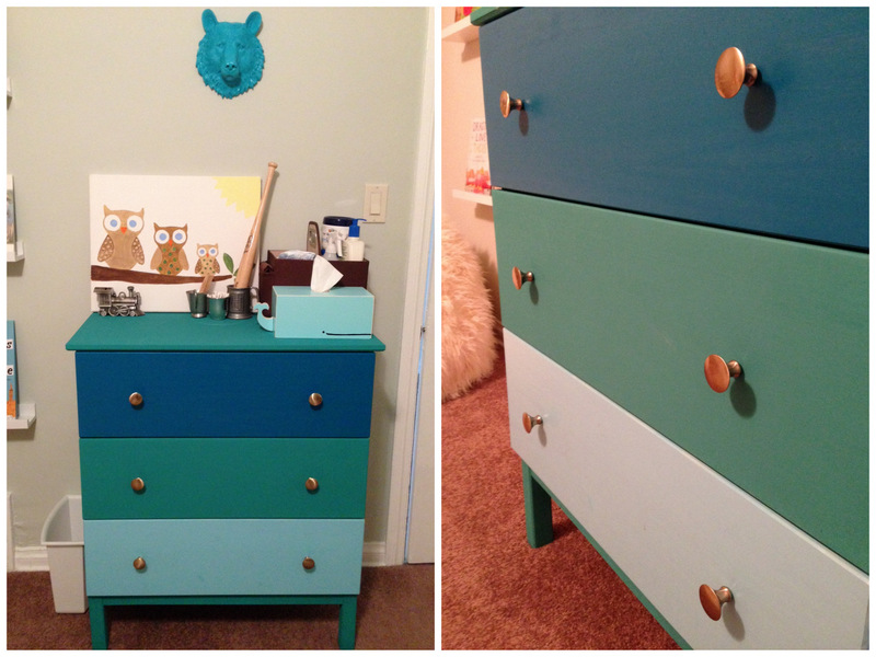 Colorblock dresser ikea hack | Oh Lovely Day