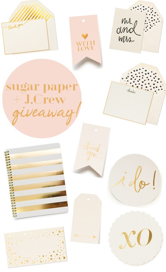 Sugar Paper for J.Crew Giveaway