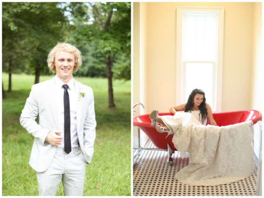 Relaxed Southern Wedding | J. Woodberry Photography & The Sonnet House