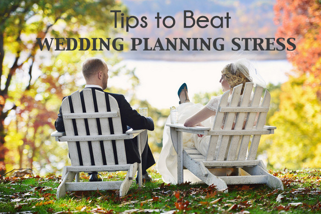 Tips to Help Beat the Stress of Wedding Planning | Oh Lovely Day