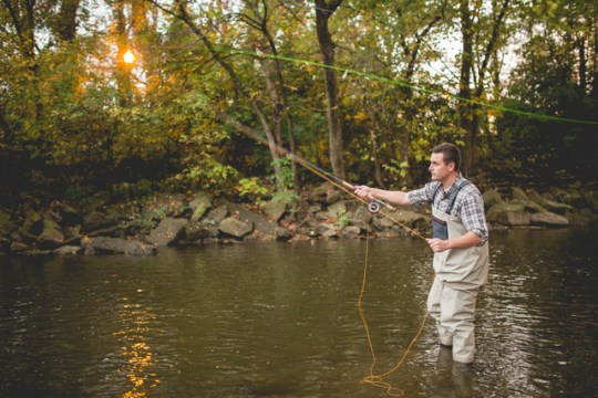 Fly Fishing Engagement | Style & Story Creative