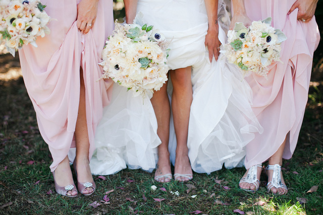 Pretty Pink Country Club Wedding | Jasmine Lee Photography