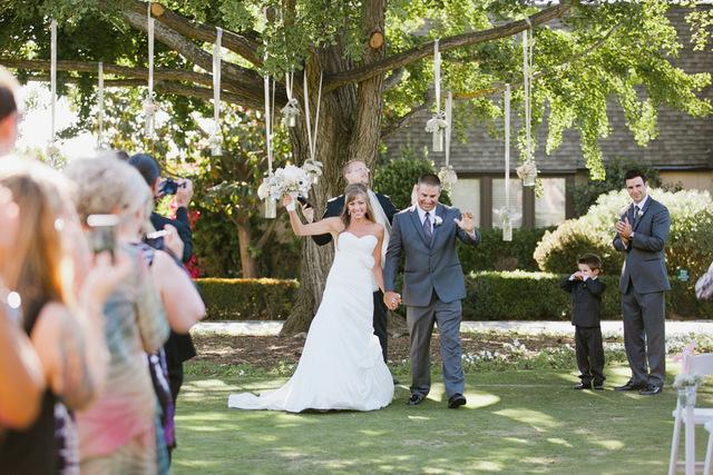 Pretty Pink Country Club Wedding | Jasmine Lee Photography