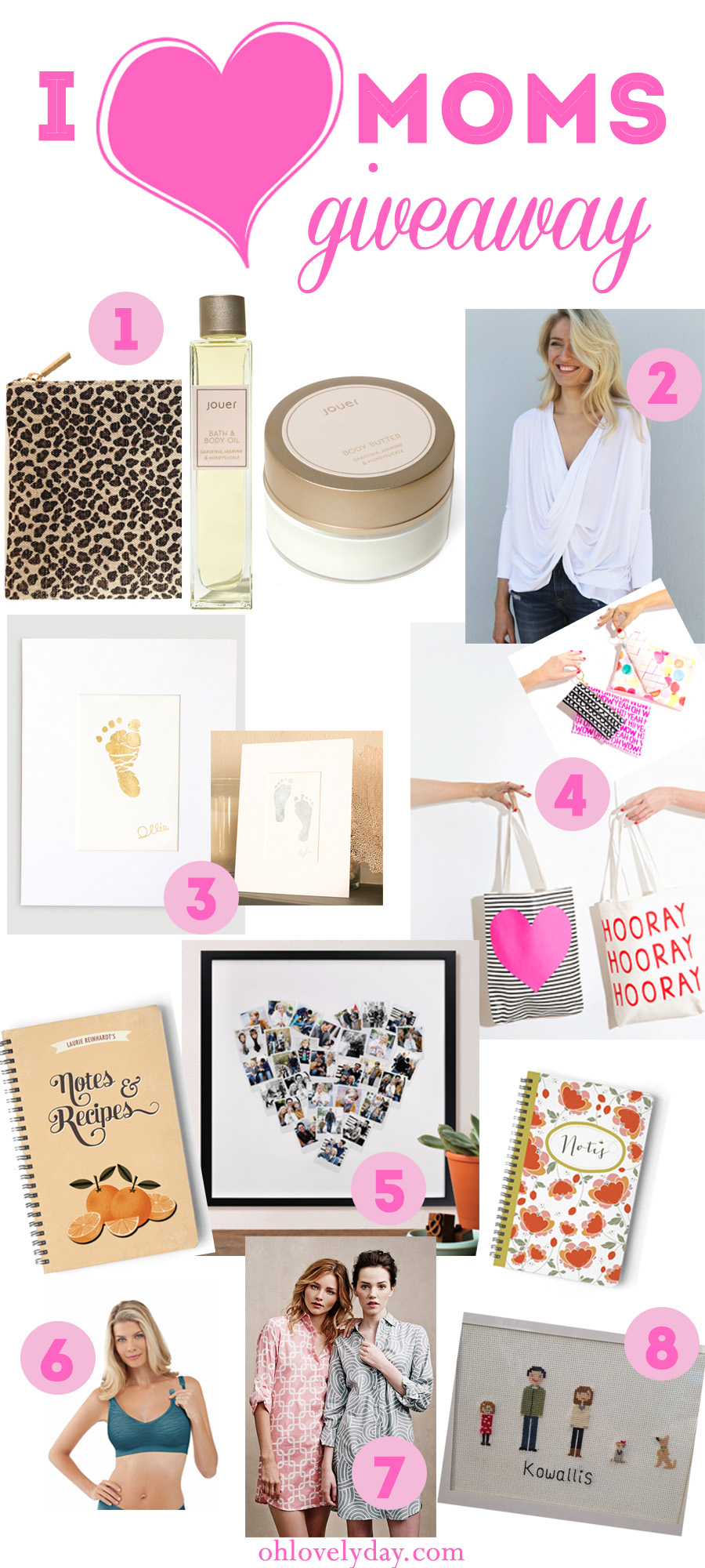 Mother's Day goodies giveaway | Oh Lovely Day