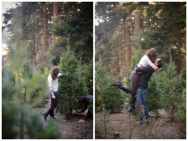 Christmas Tree Farm Anniversary Shoot | Britt Renee Photo | Oh Lovely Day