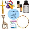 Oh Lovely Day Five Favorites: Natural Teething Remedies
