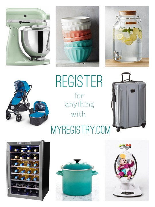 Register for Anything all in one place with MyRegistry.com | Oh Lovely Day