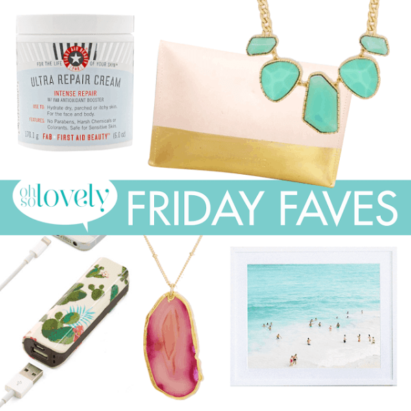 FRIDAY FAVES  //  3
