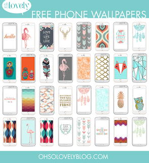 FREEBIES  //  FREE SMART PHONE WALLPAPERS