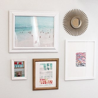 MINI HOME TOUR  //  ANOTHER MINTED GALLERY WALL