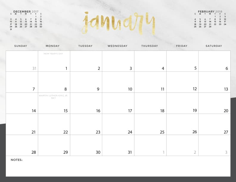 Download your FREE 2018 Printable Calendars today! There are 28 - monday sunday calendar