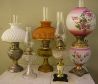 Antique Oil Lamps Kerosene Lamps for sale - Oil Lamp Antiques