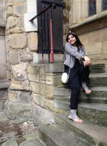 Winter look fashion Ritu Pandit