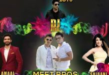 celebrity Holi Events in Bombay