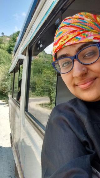 The traveller, photographer & miss sensible Deepti Khera from @NostalgicHobo
