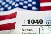 american flag tax document