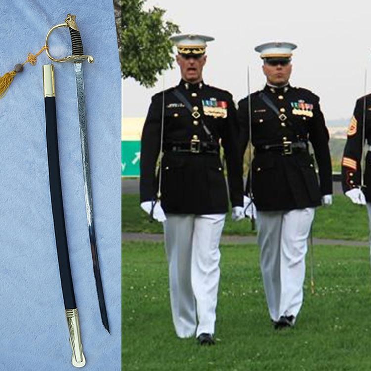 United states marine corps (USMC) NCO sword Stainless Steel blade