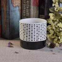 Custom ceramic candle holders for home wedding decoration