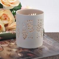 Elegant carving tealight holders ceramic candle holder ...