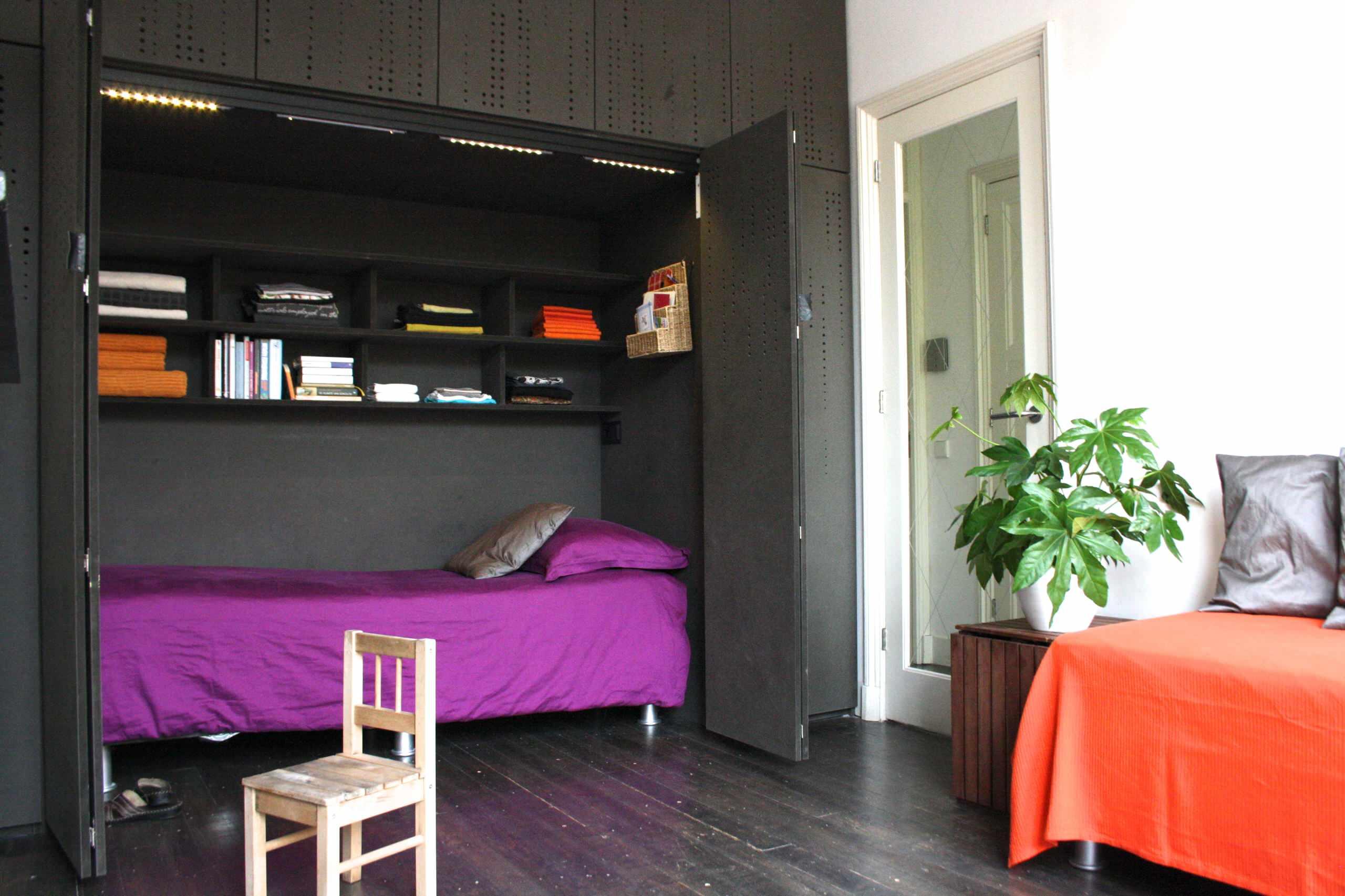 20 Increibles Ideas Para Ahorrar Espacio En Una Habitacion