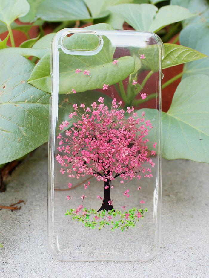 Iphone 7 Plus Live Wallpaper Fundas Para El Celular Con Flores Reales Para La Primavera