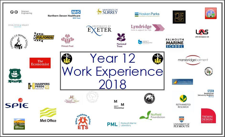 Work Experience 2018 - Okehampton College
