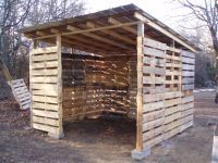 how to make a shed out of wooden pallets | Quick ...