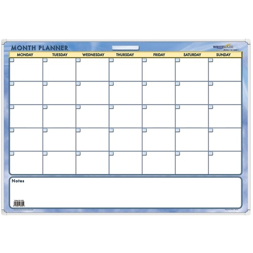 year Planners Perpetual Month Writeraze 600x850mm 13700