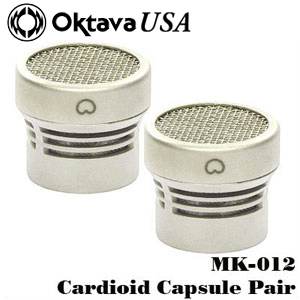 Cardioid Stereo Pair Capsules Silver