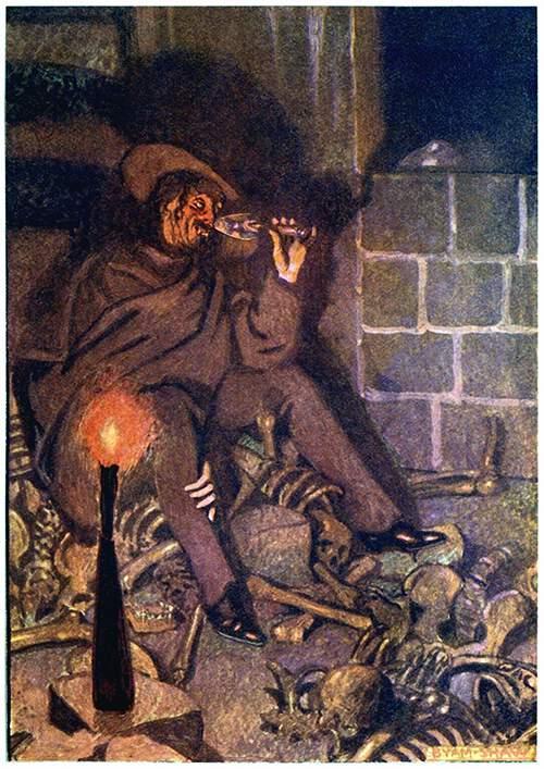 The Cask of Amontillado \u2013 Old Book Illustrations