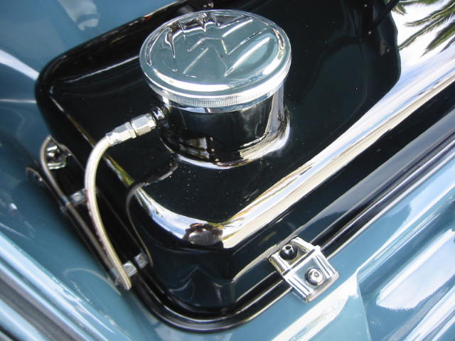 Look At That Mirror Finish On The Fuel Tank