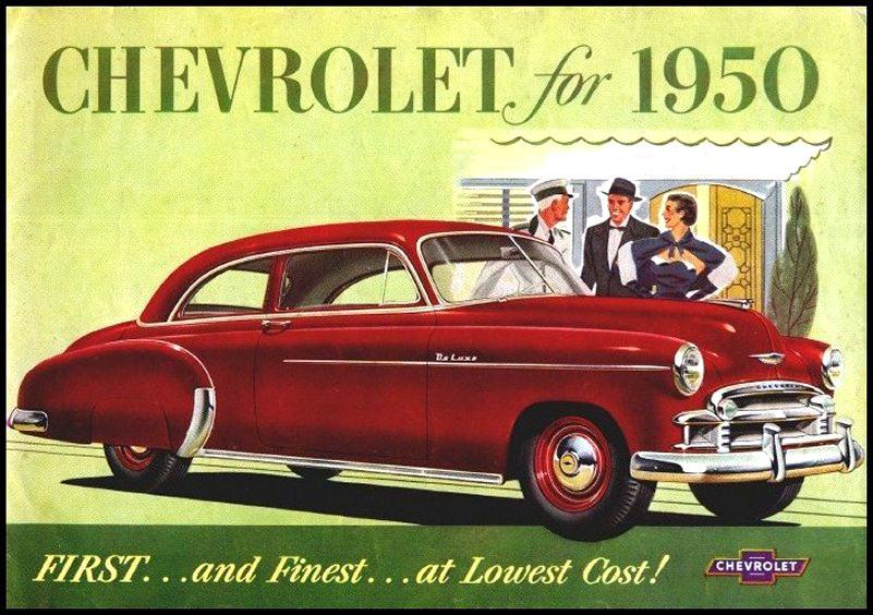 Directory Index Chevrolet/1950_Chevrolet/1950_Chevrolet_Brochure