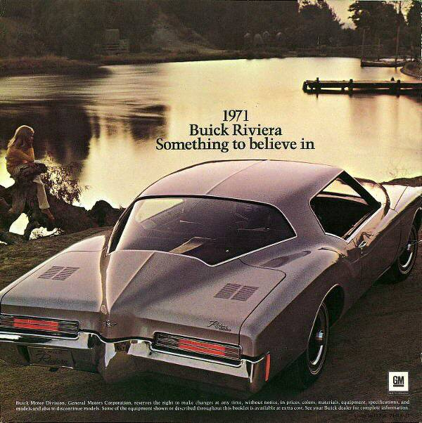1971 Buick Riviera Brochure - The Old Car Manual Project