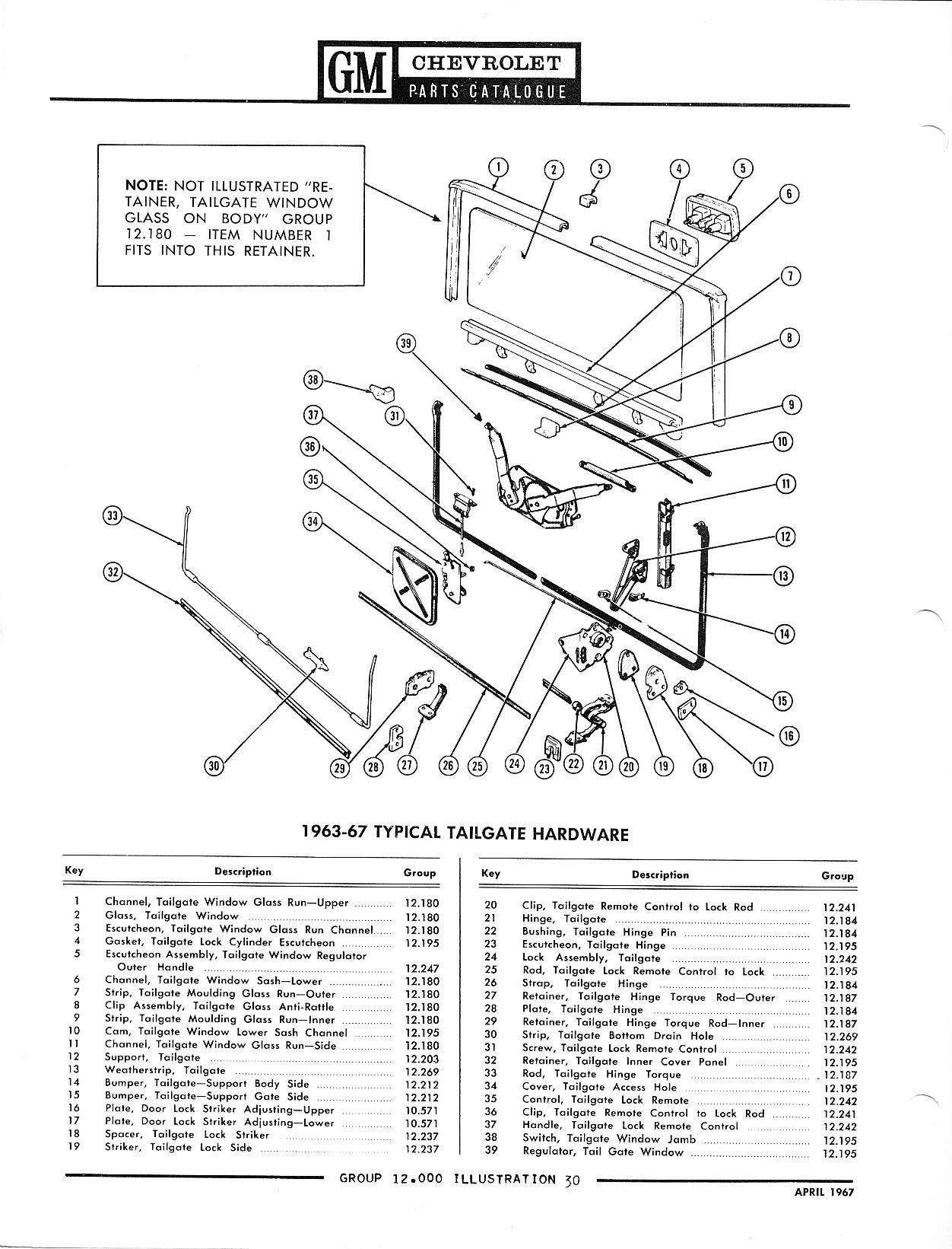 1957 chevy Diagrama del motor