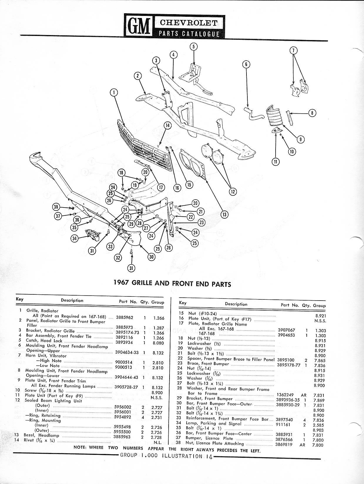 1950 chevy truck parts catalog
